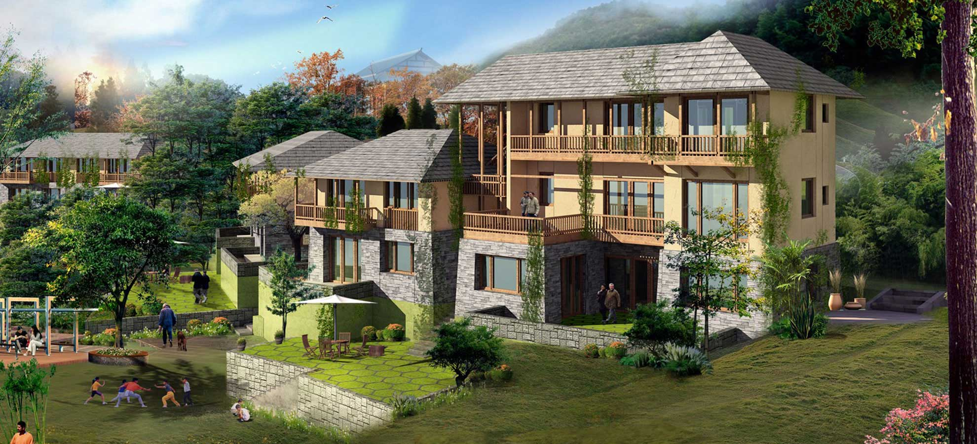 Kaisville Country Homes/Villas in Himachal, Kullu - Manali